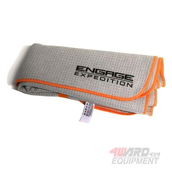 ENGAGE4X4 Microflees Expeditions-Handtuch Made in Germany
